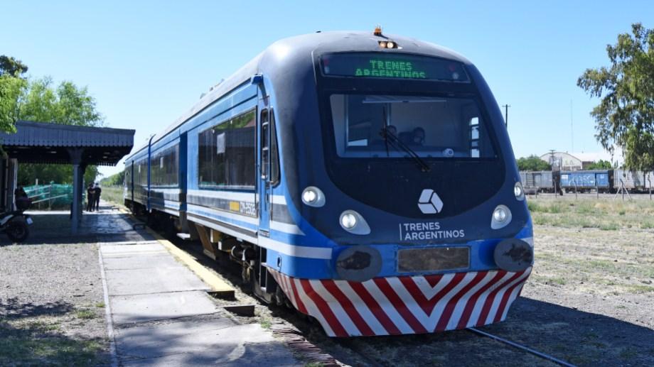 El tren había suspendido el servicio a Cipolletti hace una semana. Foto: archivo Florencia Salto