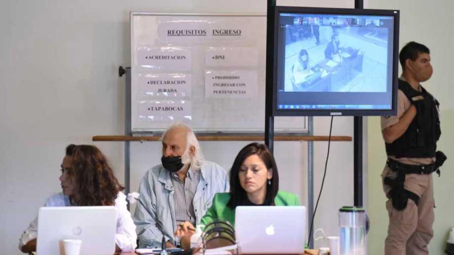 El juicio por los delitos de lesa humanidad en Neuquén continuó ayer (Florencia Salto)