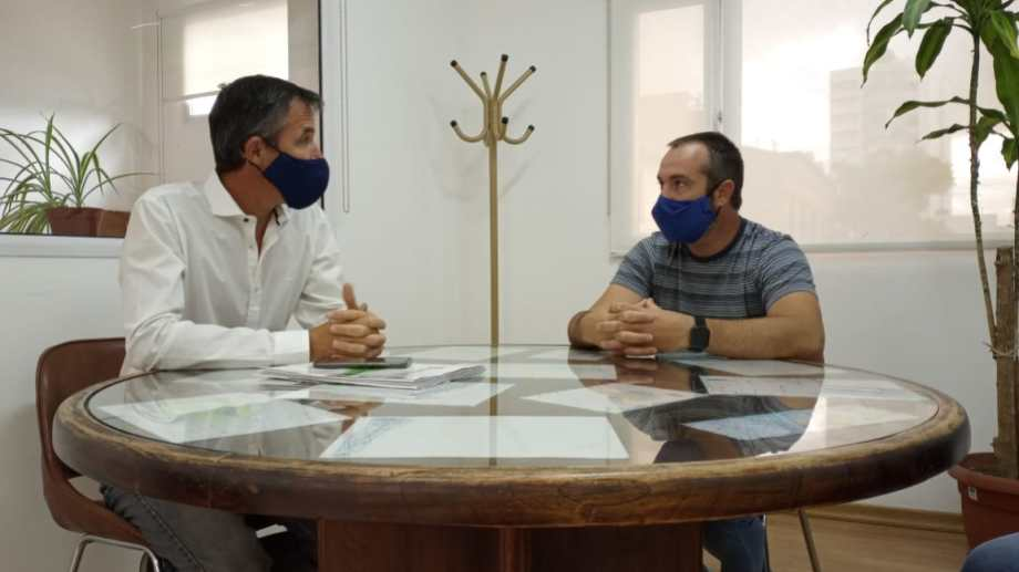 Renda se reunió con el titular del DPA. Foto: gentileza.