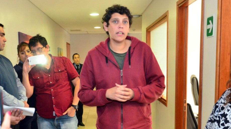 La audiencia contra Barreno se fijó a las 12:30. Foto: Marcelo Ochoa.