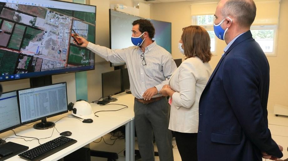 El Centro Operativo EFO permitirá monitorear los yacimientos de YPF de Río Negro y parte de Neuquén.