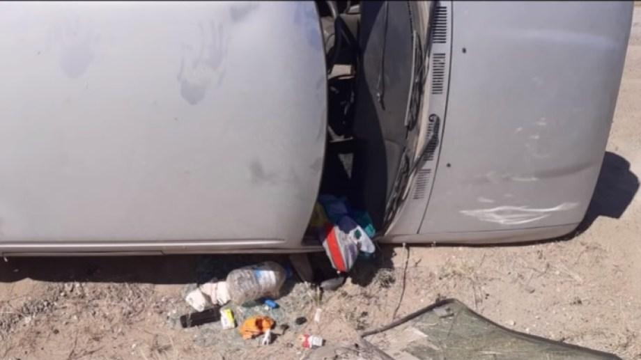 La camioneta fue encontrada a 25 kilómetros de Patagones.