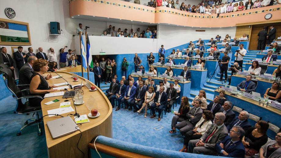 A pleno estaba el reciento en la apertura de sesión del año pasado. Foto : Marcelo Ochoa