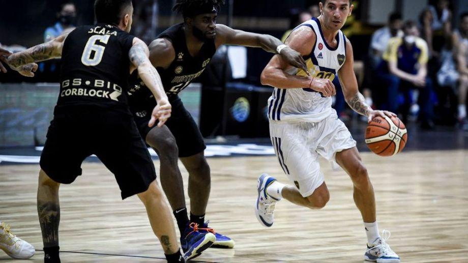 El experimentado jugador hace de las suyas en la elite del básquet nacional. Foto: LNB