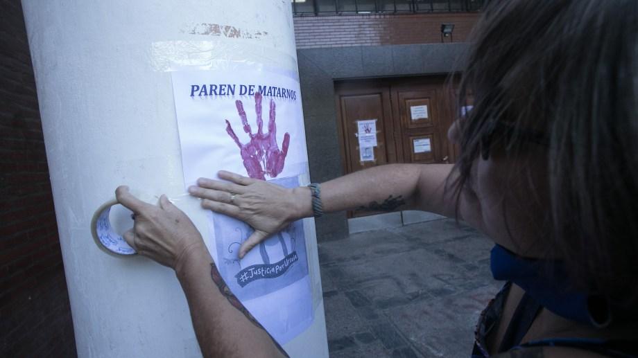 Las protestas se replican cada semana por el aumento de los femicidios en el país. Foto Archivo: Pablo Leguizamon