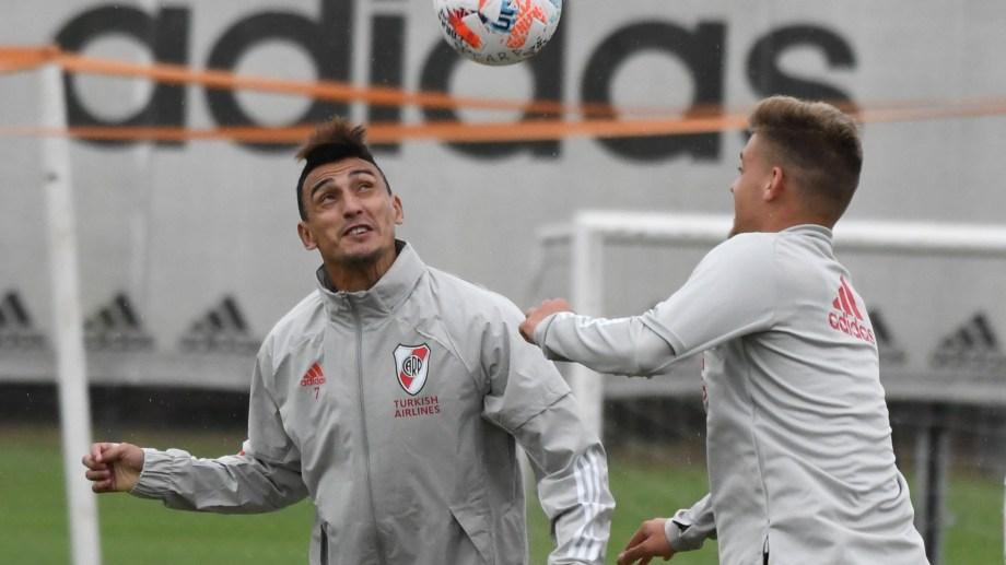Matías Suárez será titular en el equipo de Marcelo Gallardo.