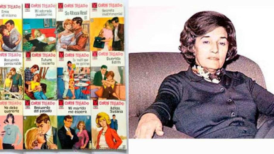 María del Socorro Tellado López, conocida por el nombre artístico de Corín Tellado fue una escritora española de literatura romántica muy prolífica, con alrededor de 5.000 novelas y relatos.