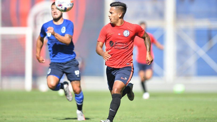 Nicolás Fernández será titular en San Lorenzo.