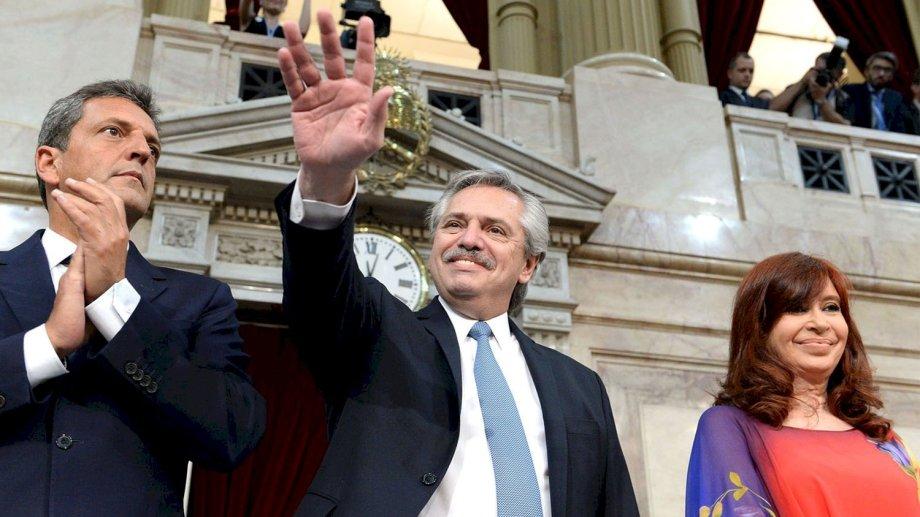 A las 11 abrirá Cristina Fernández y a las 12 se espera el discurso del presidente. (Gentileza).-