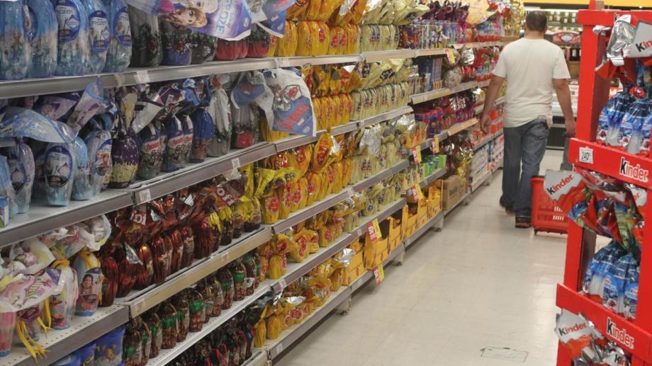 Los precios de huevos de pascuas rondan desde los $1.000 a los $100, según las variedades. (Foto ilustrativa de Gentileza).-