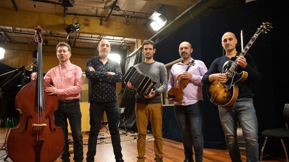 El Quinteto Revolucionario, nueva denominación del Quinteto Astor Piazzolla.