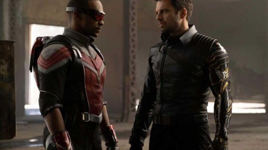 Sam Wilson (Anthony Mackie) y Bucky Barnes (Sebastian Stan), mejor conocidos como Falcon y el Soldado de Invierno,