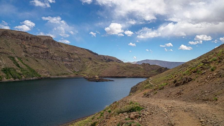 Laguna La Leche. Norte Neuquino. Foto: Ricardo Kleine Samson