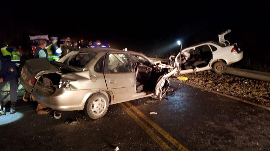 El último siniestro vial de la ruta 40, entre Bariloche y Villa La Angostura, se cobró dos víctimas fatales. Archivo