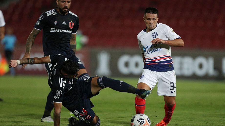 San Lorenzo y la U de Chile empataron en la ida 1-1. Con una igualdad en blanco, el Ciclón pasará de ronda.