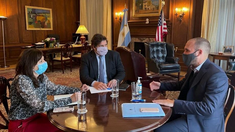 """De acuerdo al comunicado del FMI se buscará """"garantizar la sostenibilidad macroeconómica"""" de Argentina."""
