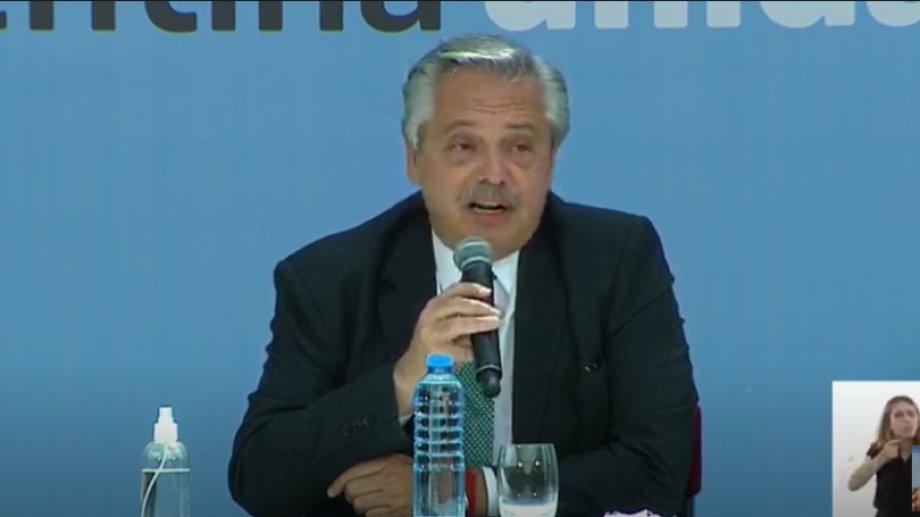 """""""Queremos cambiar la justicia para que no haya más Úrsulas ni más Micaelas"""", señaló Fernández."""