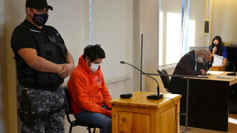 Matías Vázquez llegará a juicio. Conducía a 110 km/h y había consumido alcohol en exceso cuando atropelló a Lucas Caro. Foto archivo: Alfredo Leiva