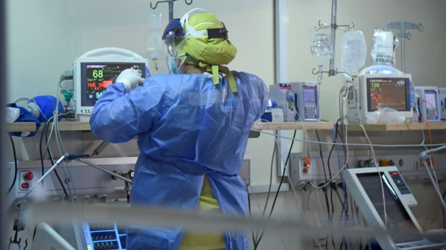 La ocupación de camas de terapia intensiva en el hospital Ramón Carrillo se mantiene al 80%. Foto: archivo