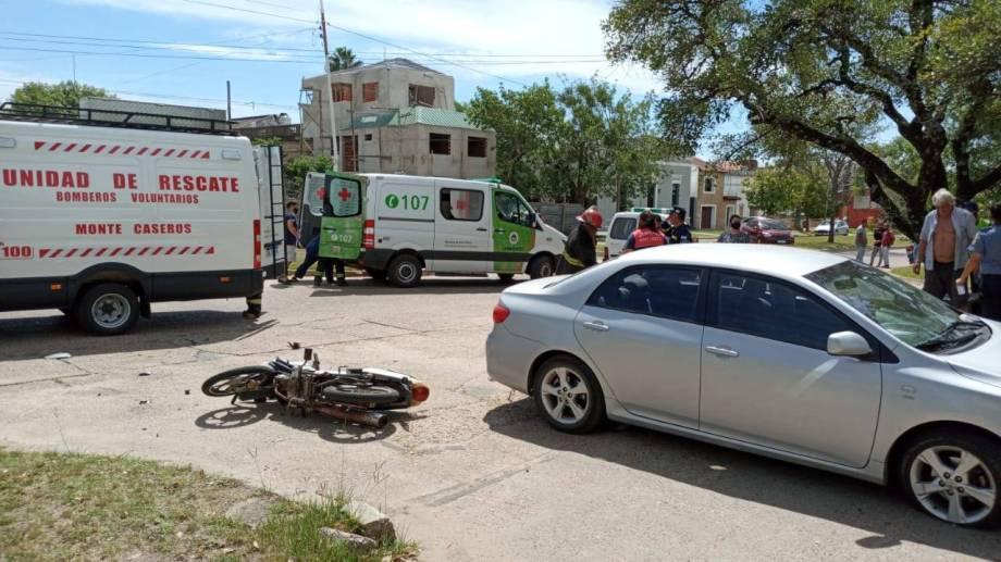 Chocó y mató a un motociclista: al asistirlo descubrió que era su hijo. Foto: gentileza Radio Dos