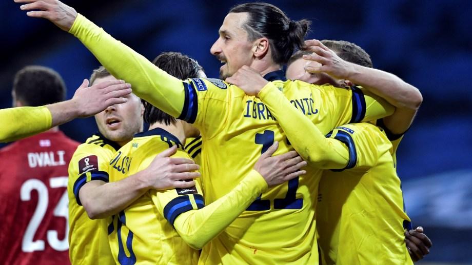 Zlatan regresó al seleccionado escandinavo después de cinco años. Fue con victoria ante Georgia.