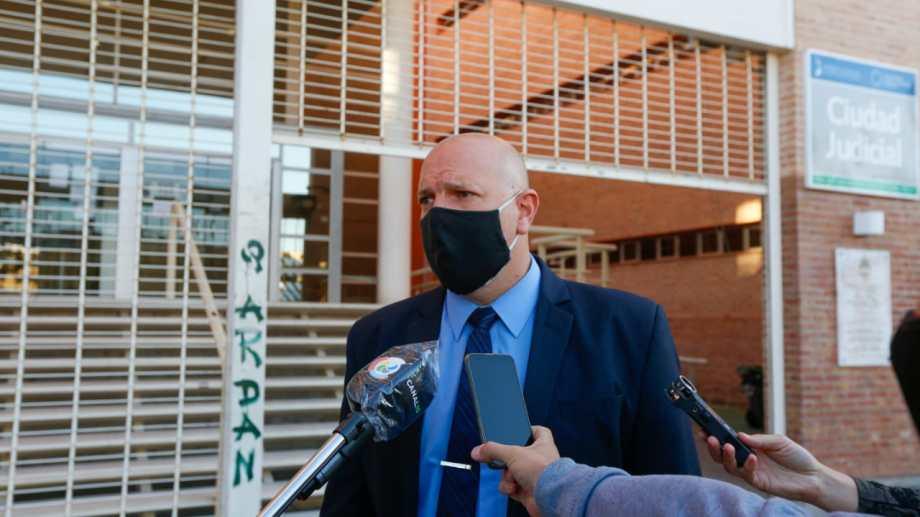 El fiscal Garrido se refirió a la desaparición de Videla. Fotos: Juan Thomes