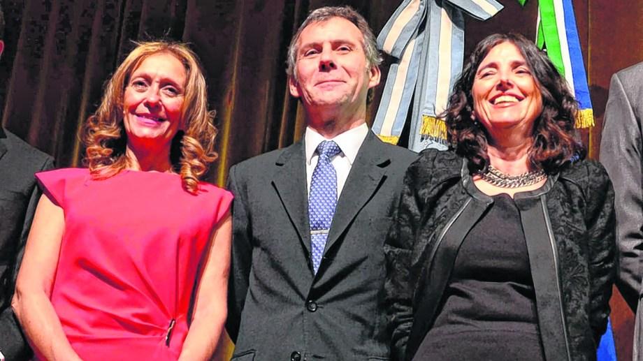 Los jueces Piccinini, Mansilla y Zaratiegui recibieron la intimación de Anses y por ahora solo los dos últimos presentaron sus renuncias. Archivo Marcelo Ochoa