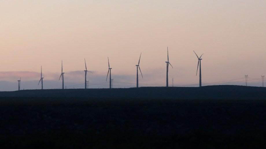El aporte de los parques eólicos durante febrero fue un 22,04% menor a la de enero. (Foto: gentileza)