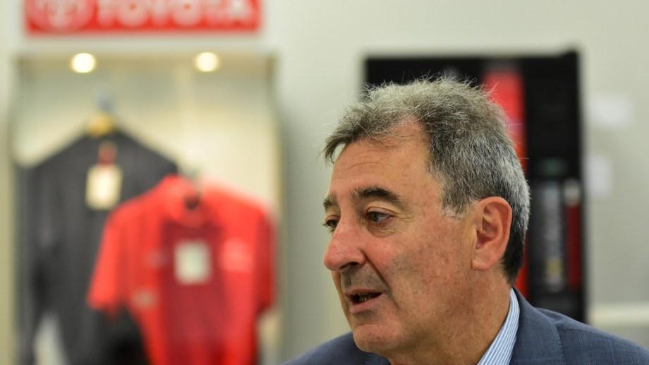 Daniel Herrero, CEO de Toyota.