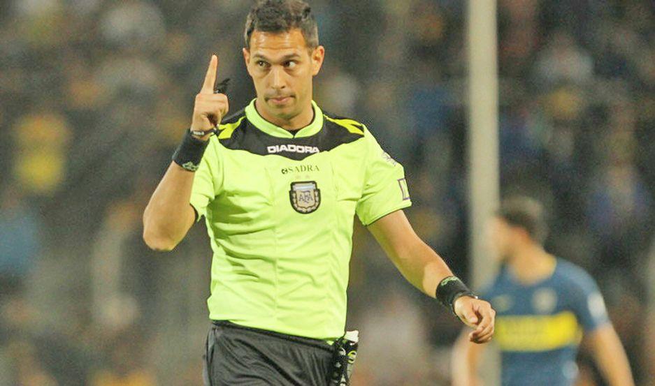 Facundo Tello, el árbitro del Superclásico tuvo su paso por la región