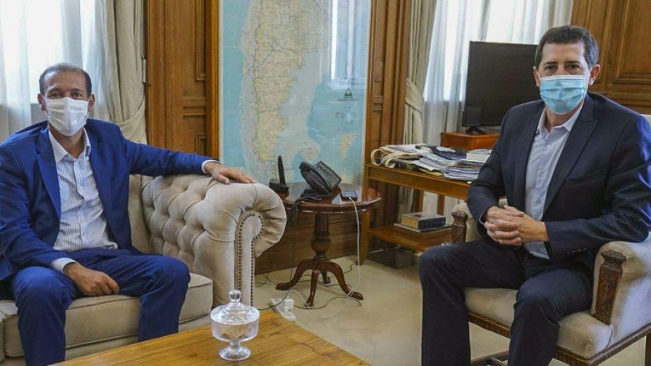 El gobernador de Neuquén estuvo en Buenos Aires y se reunió con ministros de Nación. (Foto: gentileza)