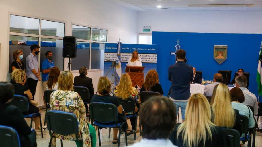 """En el discurso del lunes, la mandataria aseguró que """"vamos a continuar con la impronta del desarrollo de la zona norte"""". (Foto: Juan Thomes)"""