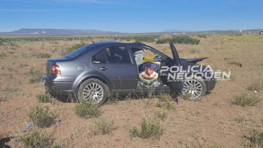 En ese sector sobre Ruta 22 ya han ocurrido otros accidentes. Foto: Gentileza