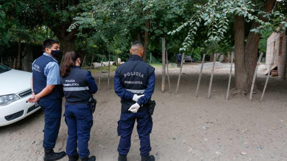 El fiscal Garrido señaló que hasta el momento Videla no fue encontrado. Fotos y video: Juan Thomes