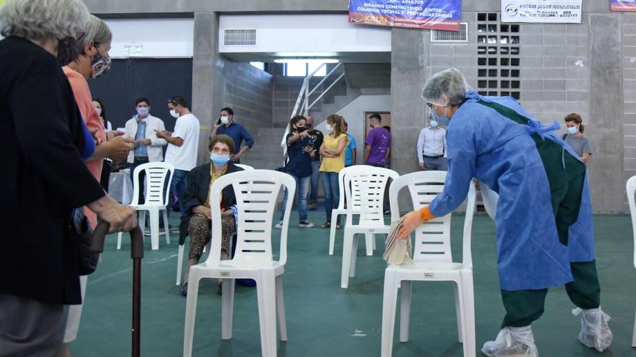 Llegan a Neuquén más dosis de vacunas contra el Covid-19. Foto: Florencia Salto