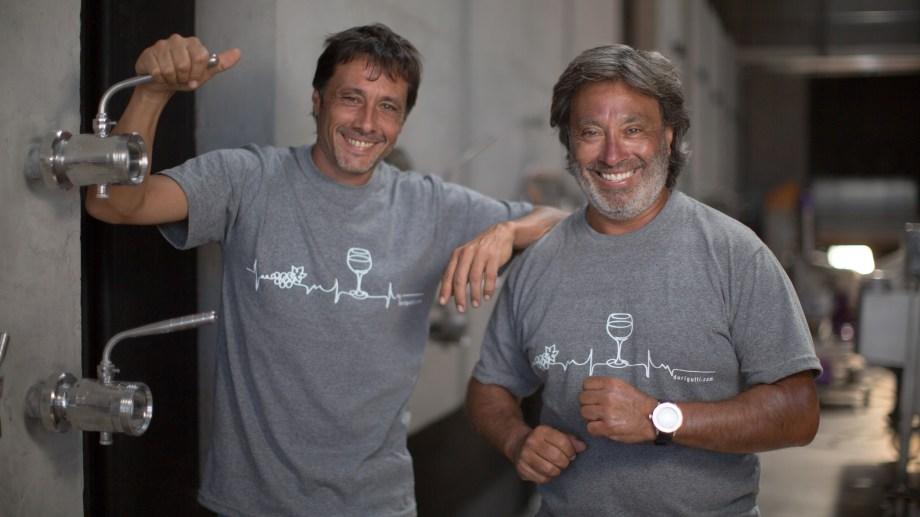 Héctor y Pablo Durigutti, dueños de la bodega Durigutti Family Winemarkers.