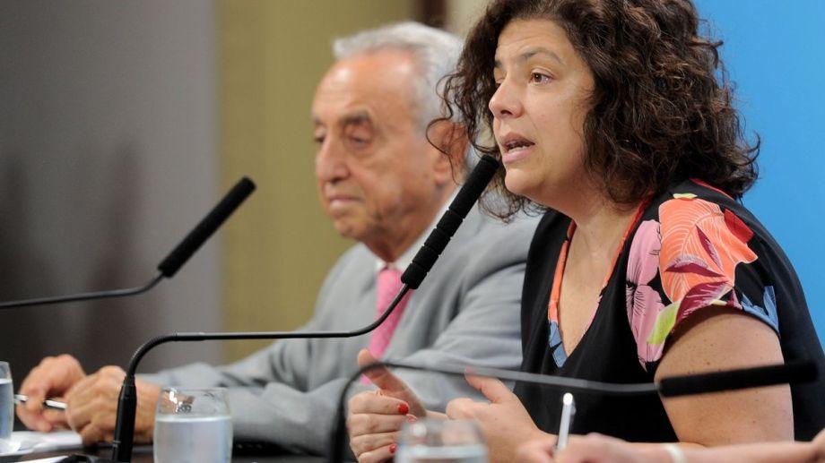 La ministra Carla Vizzotti busca una estrategia para el AMBA, por ahora eje de los contagios.