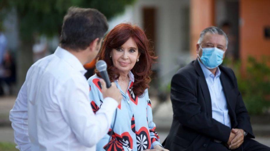Cristina omitió el error, no sabemos si porque no lo escuchó o porque eligió ignorarlo. Foto: Presidencia de la Nación.-