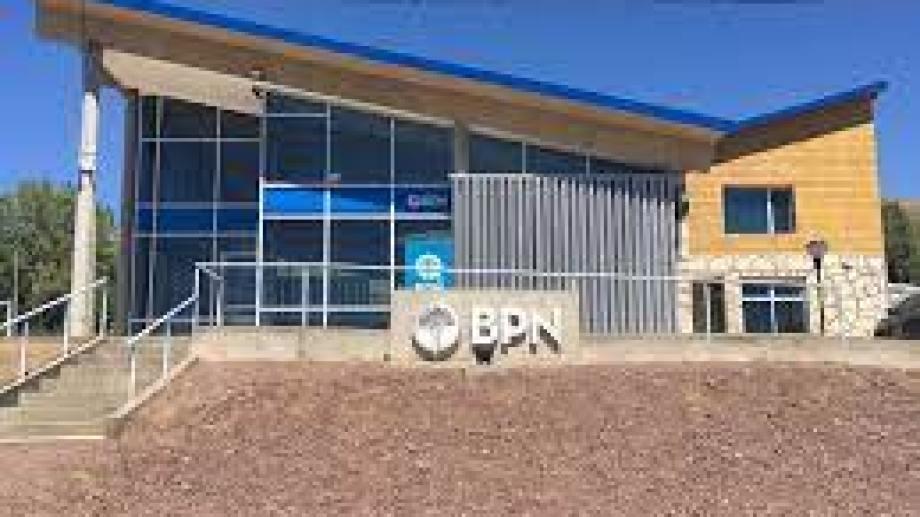 La sucursal del BPN en El Cholar.