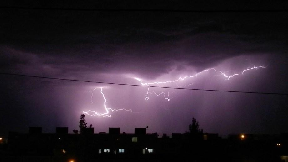 Regresan las tormentas eléctricas a la región.  Foto: Juan Agu