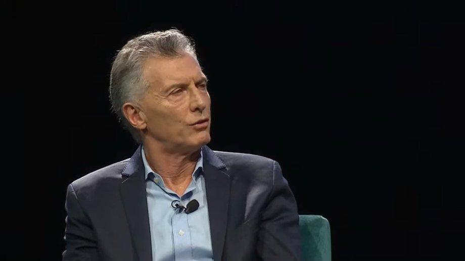 "El ex presidente Mauricio Macri dijo: ""Cristina Kirchner maneja la agenda del Gobierno""."