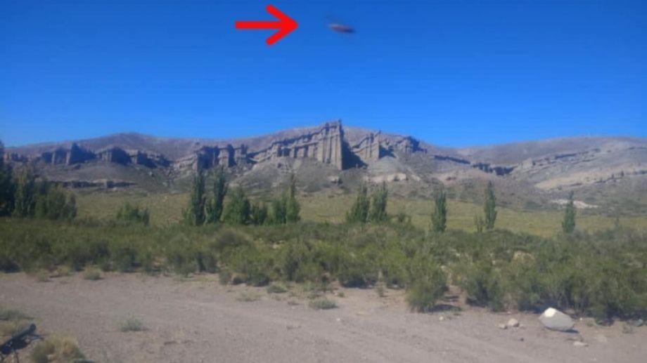 La imagen que compartió Lucio en redes. Foto: gentileza Los Andes.-