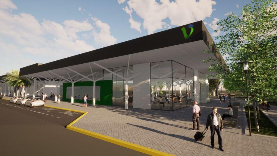 Así será el proyecto de la nueva terminal de ómnibus de Viedma.