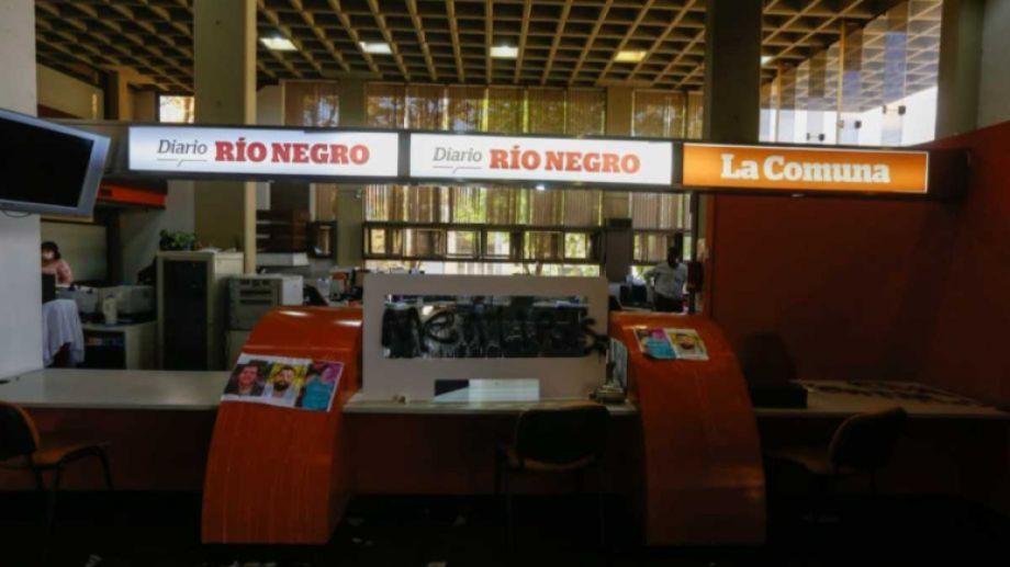 Así quedaron las instalaciones de RÍO NEGRO, en la sede de Roca.-