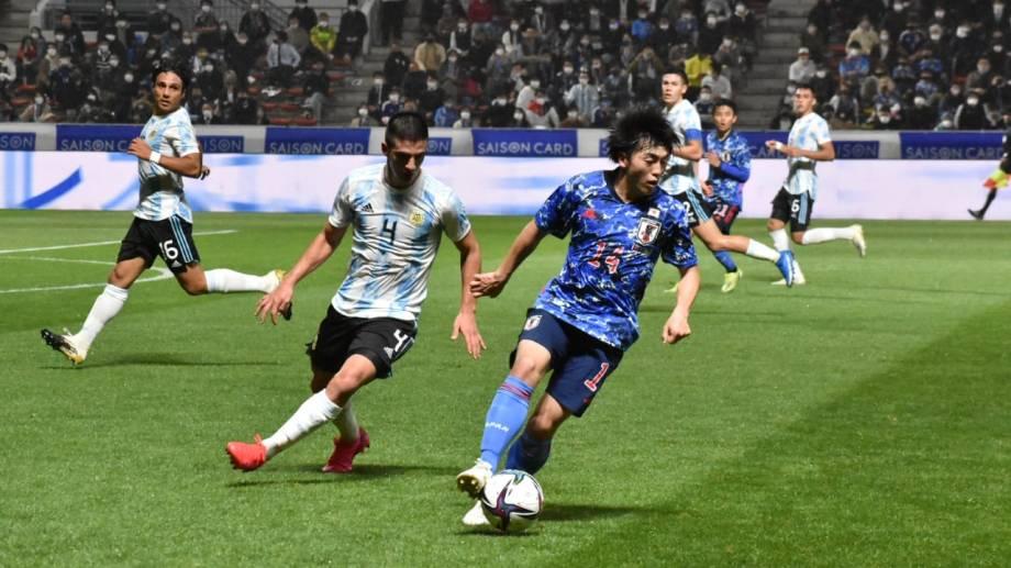 Fea derrota del sub 23 contra Japón en el segundo amistoso