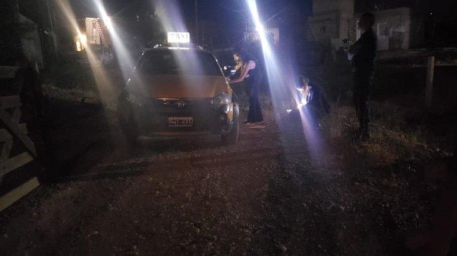 El chofer herido es el titular del auto. Ya realizó la denuncia. Foto: Gentileza Noticiasnqn