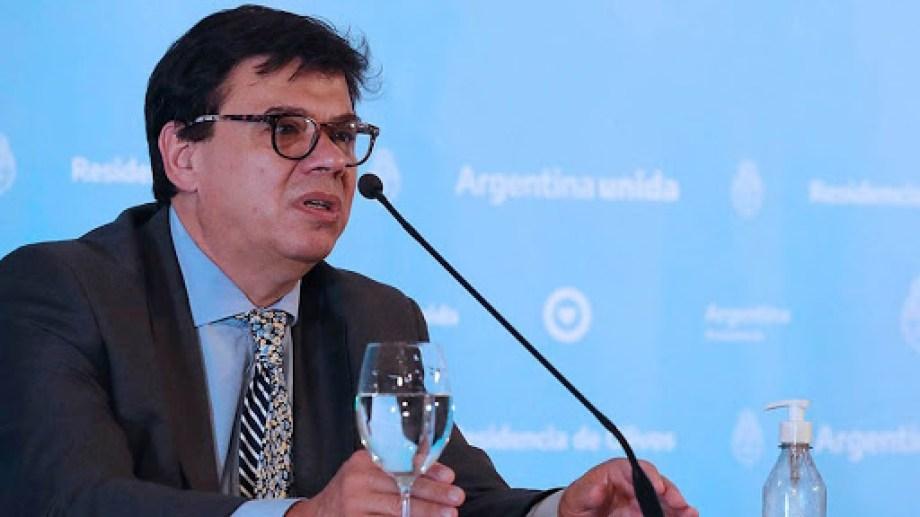 El ministro de Trabajo, Claudio Moroni, dictó la conciliación obligatoria para Sanidad.