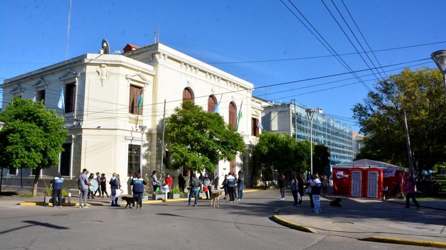 La decisión se tomó en una reunión de la Mesa Directiva provincial del gremio. Foto : Marcelo Ochoa