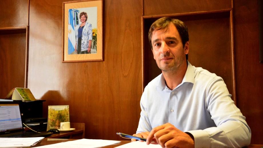 Martin asumió como secretario de Hacienda. Foto : Marcelo Ochoa