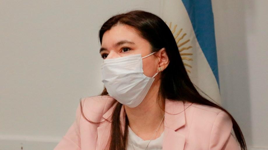 La ministra pidió que se levanten los cortes para garantizar la paz social en Neuquén. Foto: Gentileza Neuquén Informa